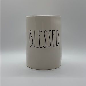 """NEW RAE DUNN """"BLESSED"""" CANDLE!  SMELLS AMAZING!"""